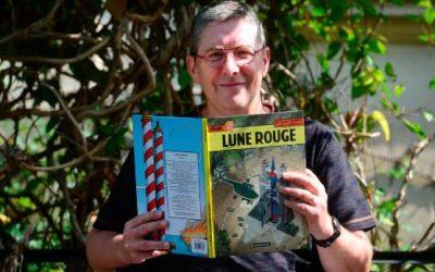 Christophe Alvès, dessinateur de BD, a trouvé son Moulinsart à lui !